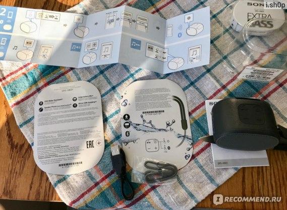 Беспроводная колонка Sony SRS-XB01 фото