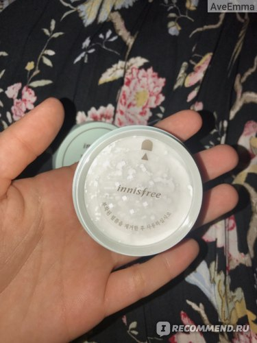 Пудра рассыпчатая Innisfree No sebum mineral powder фото