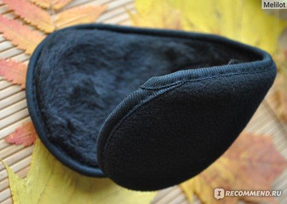 Теплые наушники Aliexpress 1 Pack Women Men Winter Ear Warmers Behind The Ear Style Fleece Muffs фото