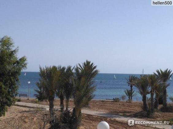тунис отель эль муради джерба мензель