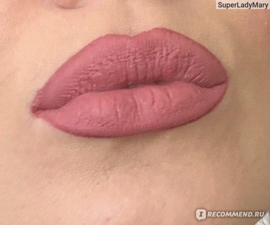 Блеск для губ LUXVISAGE PIN-UP Ultra matt фото