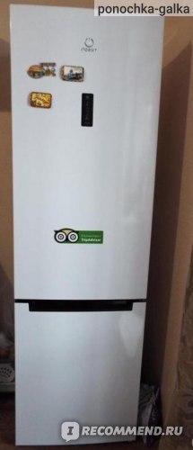 Двухкамерный холодильник Indesit DF 5200 W фото