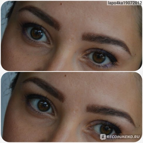 Гель для бровей Topface Instyle eyebrow gel with argana oil & and sweet almond oil фото