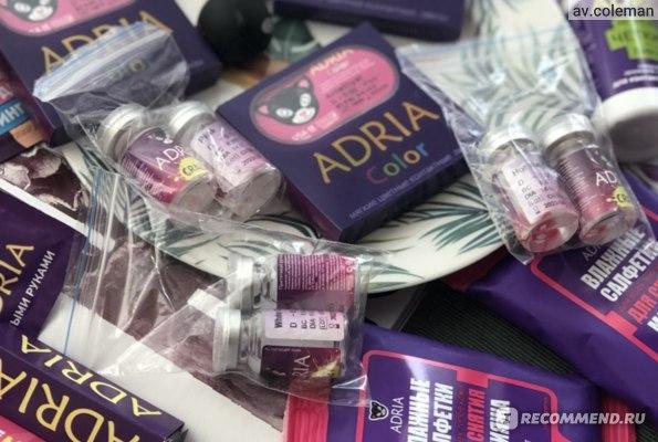 Контактные линзы цветные ADRIA Crazy фото
