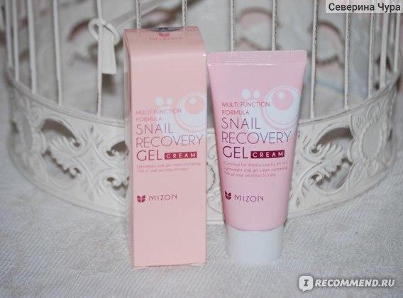 Гель для лица Mizon Snail Recovery Gel cream фото