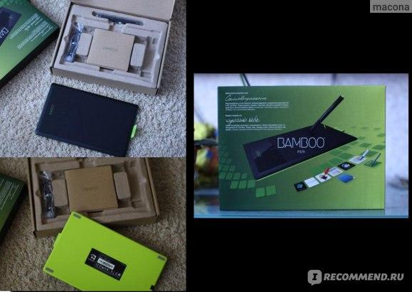 Графический планшет WACOM  Bamboo Pen CTL-470 фото