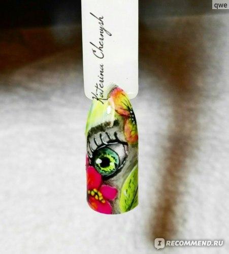 Гель-лак для ногтей Lianail Неоновый фото