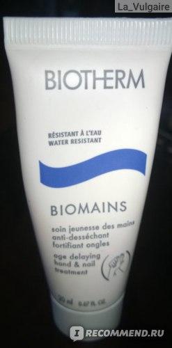 Крем для рук Biotherm Biomains  фото