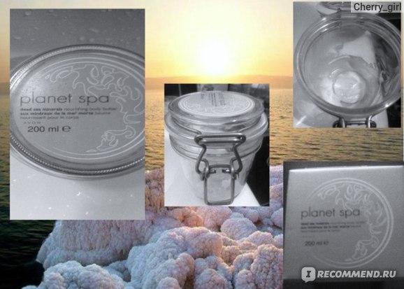 Крем для тела  Avon SPA  питательный с солями и грязями Мертвого моря фото