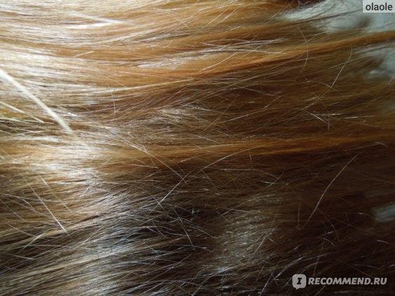 кончики волос после тонирования
