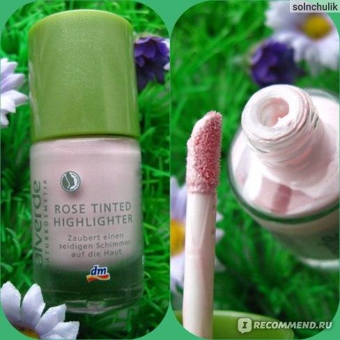 Хайлайтер Alverde Rose Tinted Highlighter фото