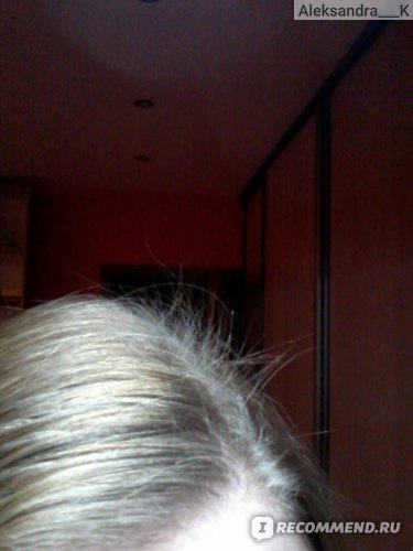 Молодые волосы