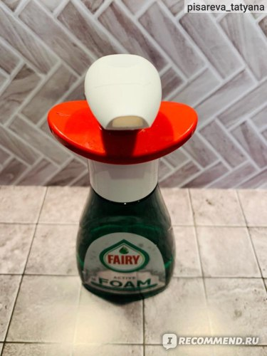 Пена для мытья посуды Fairy Активная пена/Active Foam фото