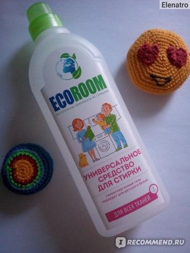 Средство для стирки белья Ecoroom (Экорум) биоразлагаемое
