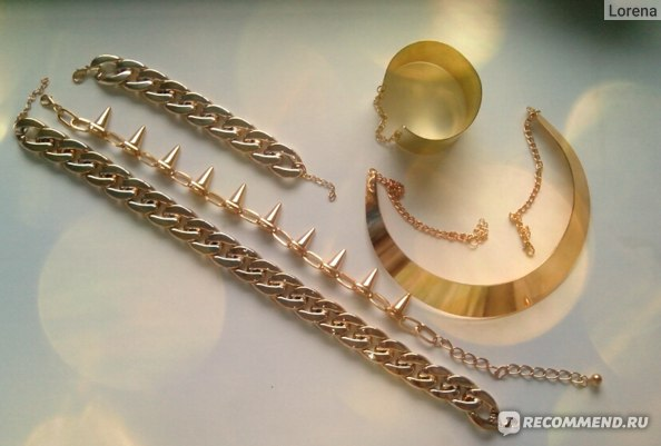 Ожерелье Aliexpress Min.order is  (mix order), European and American style, fashion bullet necklace, cheap, welcome to place an order!X00024 фото