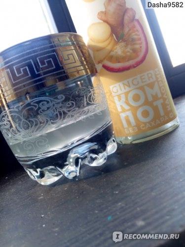Безалкогольный напиток Bioteka «GINGER КОМПОТ» с имбирём и маракуйей