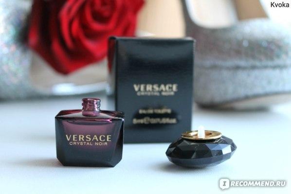 Versace Crystal Noir фото