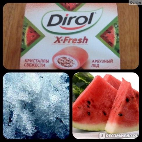 Жевательная резинка Dirol x-fresh фото
