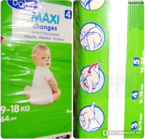 Подгузники Ашан Auchan Baby MAXI - отзыв