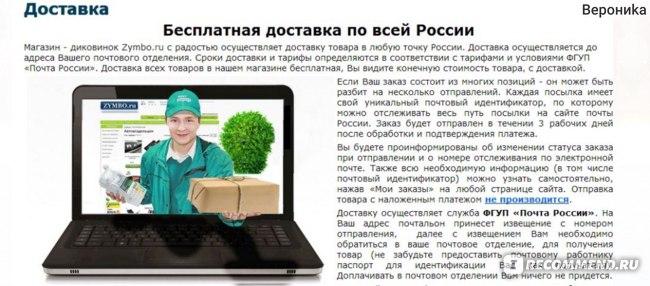 Магазин диковинок. Zymbo.ru фото