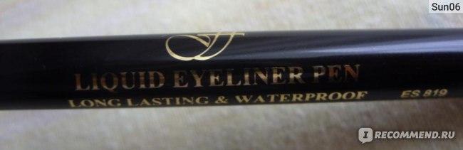 Подводка-фломастер для глаз FFLEUR водостойкая DESIGN LINE MARKER  фото
