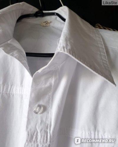 Рубашка женская AliExpress RICORIT Women Long Blouse Women White Shirt Office Ladies 100% Cotton Shirts Casual Cotton Blouse Fashion Blusas Femininas фото