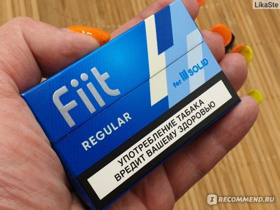 Fiit стики regular табачные купить сигареты на апрашке спб