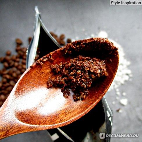 Скраб для тела RICHE Coffee Bean Scrub Mandarin Консистенция