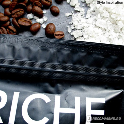 Скраб для тела RICHE Coffee Bean Scrub Mandarin Дата производства