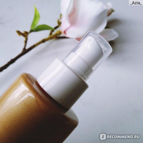 Мерцающий крем для тела и лица Savonry Golden Cream фото