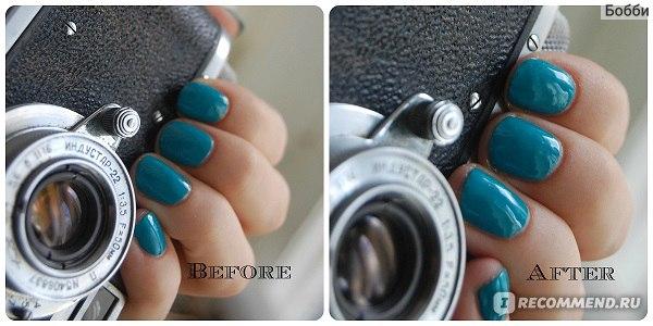 Базовое и верхнее покрытие для ногтей Masura Base&Gloss 2in1 фото