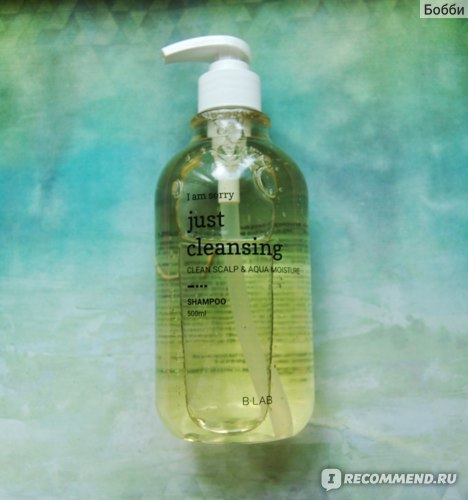 Шампунь B-LAB I Am Sorry Just Cleansing Shampoo фото
