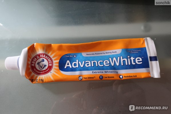 Зубная паста Arm&Hammer AdvanceWhite фото