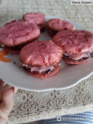 Набор для приготовления Иван-поле Печенье макаруны со вкусом «вишня» фото