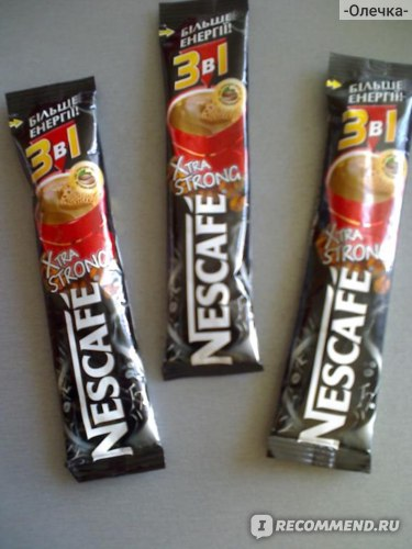Кофе Nescafe  Xtra Strong фото
