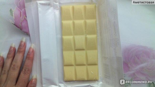 Шоколад пористый Alpen Gold Aerated белый пористый, 80гр фото