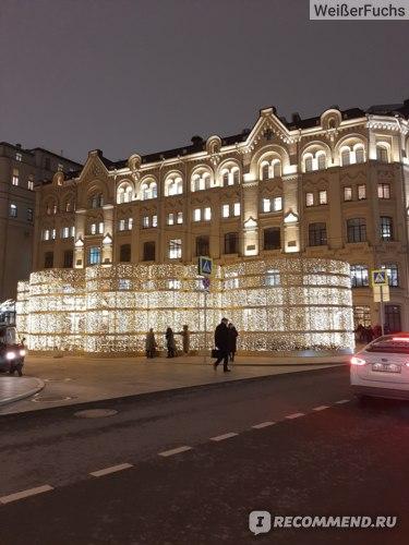 Биржевая площадь, декабрь, 2019.