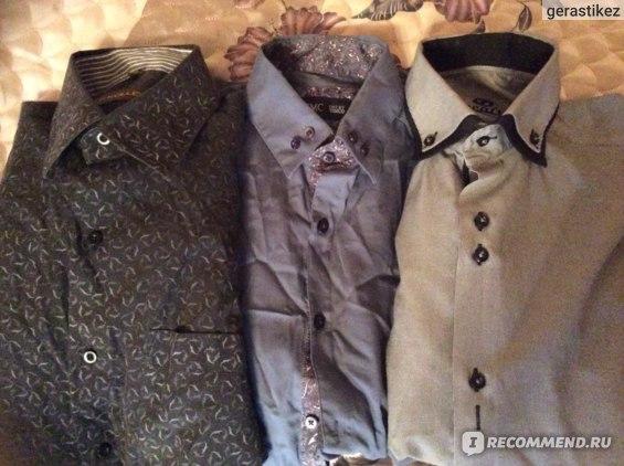 Мужские рубашки - 1500 за шт.