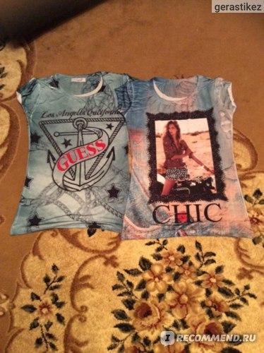 Женские футболки - 500 руб за шт.