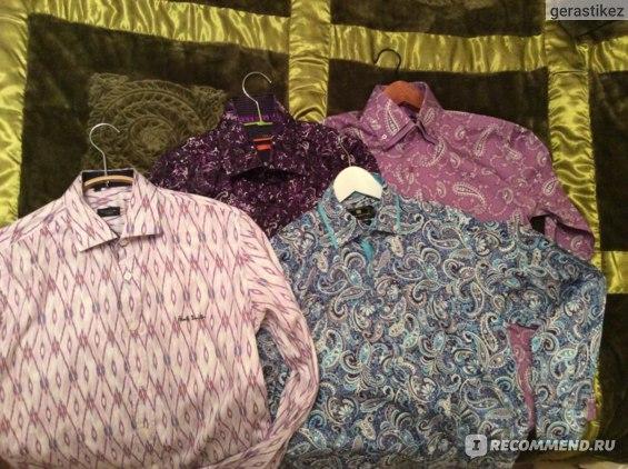 Мужские рубашки. От 1800 до 3000 рублей