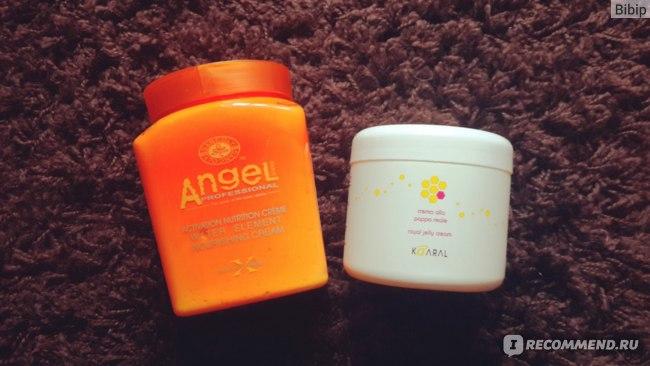 Маска для волос ANGEL Professional Питательный крем для волос фото