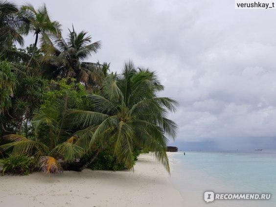 Остров в пасмурную погоду