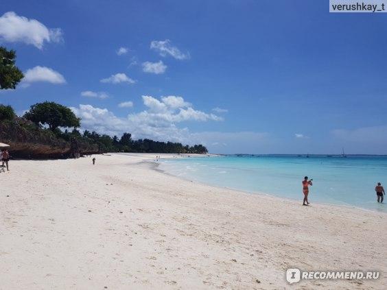 Пляж Кендва максимальный отлив