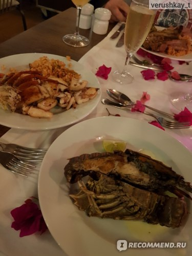 Ужины в отеле