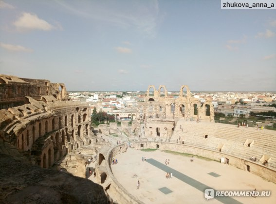 Эль джем. Колизей. Тунис. фото