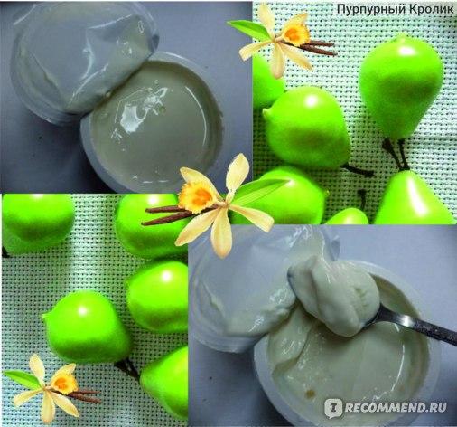 Творог мягкий Бежин луг с фруктовым наполнителем груша-ваниль фото