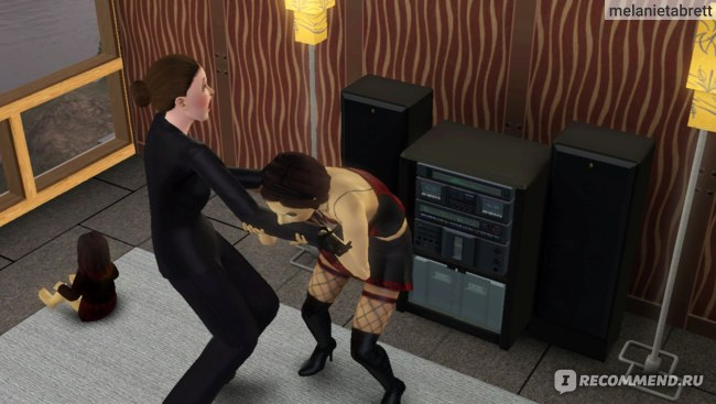 "The Sims 3 ""В сумерках"" укус вампира"