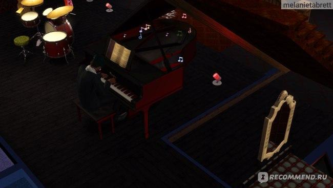 "The Sims 3 ""В сумерках"" пианист"