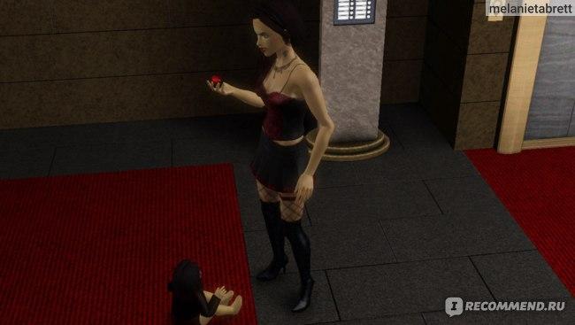 "The Sims 3 ""В сумерках"" кровавый плод"