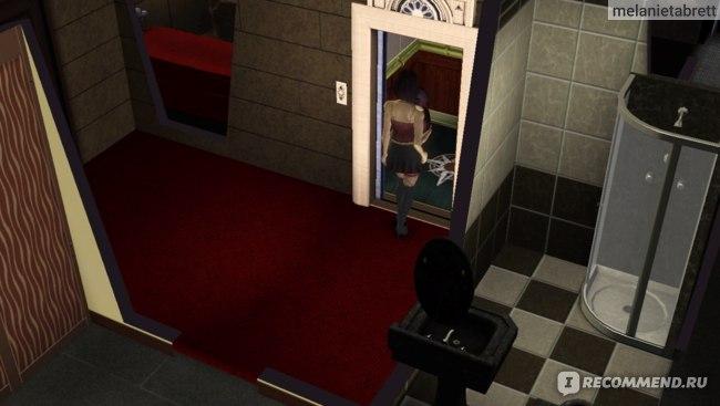 """The Sims 3 """"В сумерках""""  лифт"""